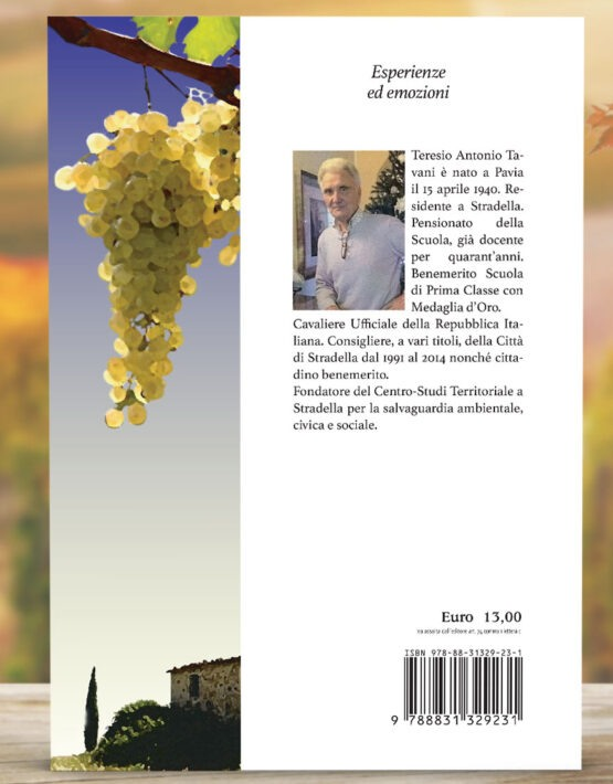 retro copertina libro poesie Tavani